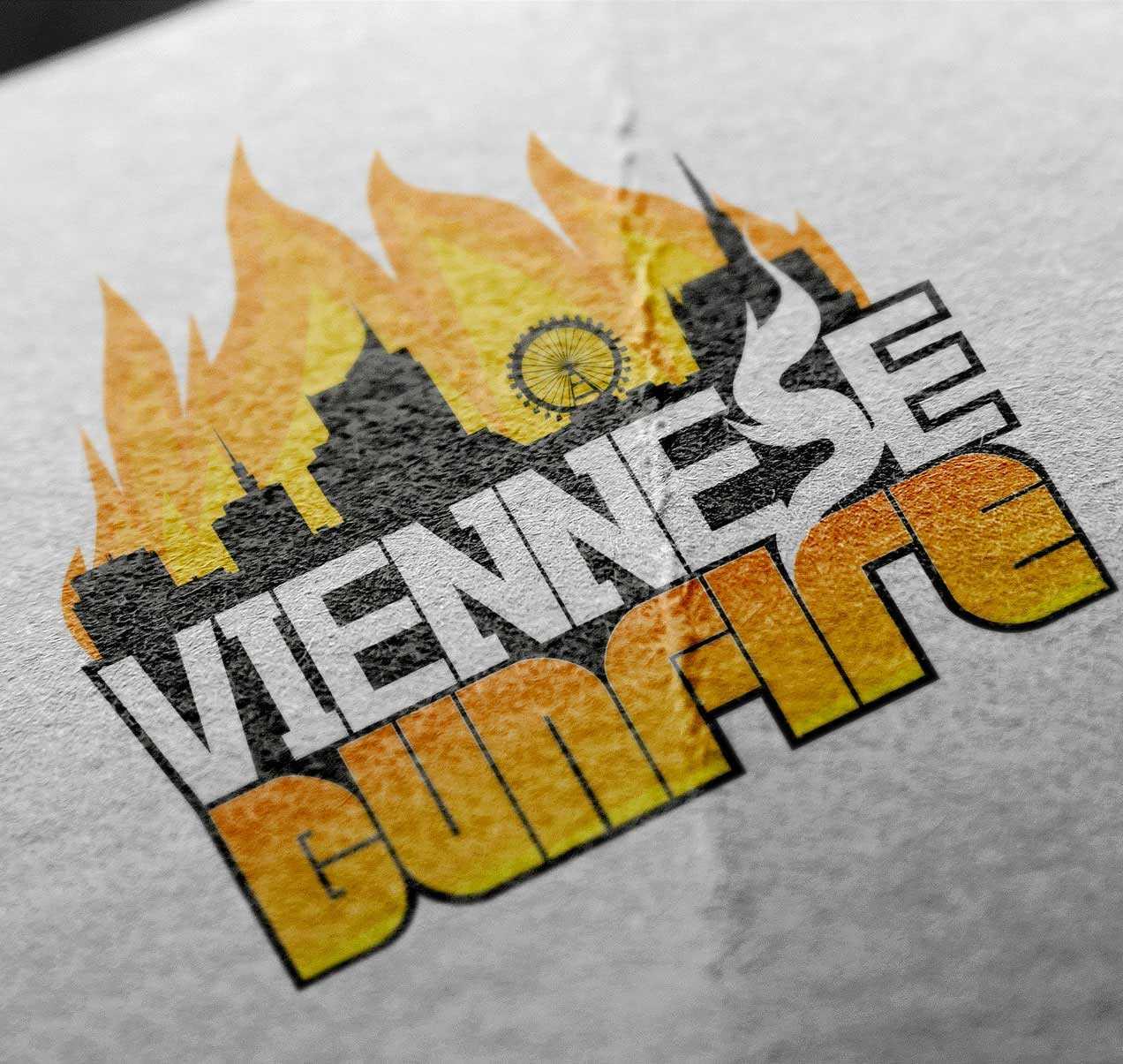 Viennese Bunfire Logo