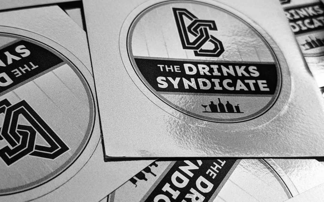The Drinks Syndicate Sticker