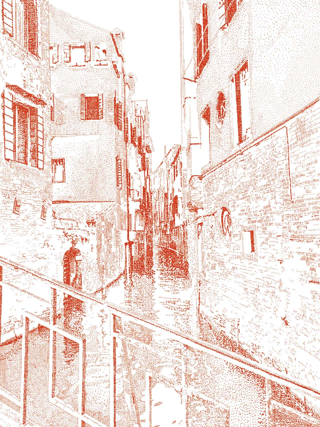 Venedig Kanal Art Print